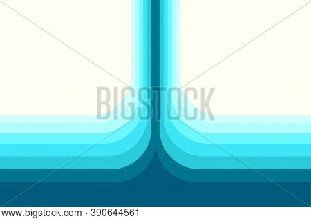 Image Of Blue Color Shades Layers Background