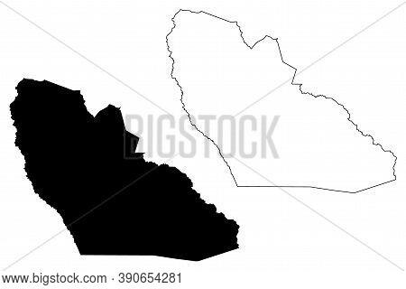 Jonglei State (states Of South Sudan, Greater Upper Nile Region) Map Vector Illustration, Scribble S