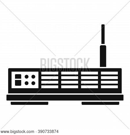Signal Satellite Icon. Simple Illustration Of Signal Satellite Vector Icon For Web Design Isolated O
