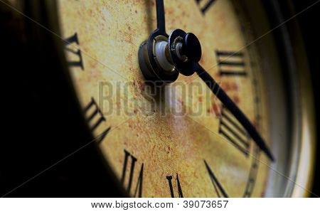 Antique Desk Clock Face