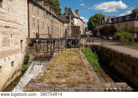 Historic Part Of The French City Pau, South