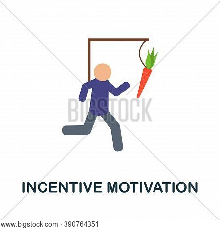 Incentive Motivation Icon. Simple Element From Business Motivation Collection. Creative Incentive Mo