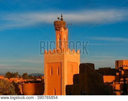Ait Benhaddou, A Historic Ighrem Or Ksar (fortified Village) Along The Former Caravan Route Between