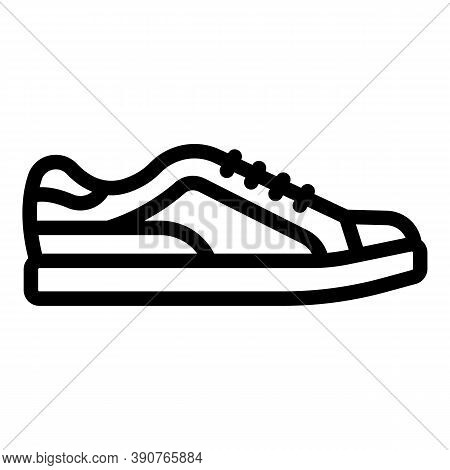 Rap Sneakers Icon. Outline Rap Sneakers Vector Icon For Web Design Isolated On White Background