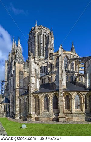 Coutances Cathedral Is A Gothic Roman Catholic Cathedral Constructed From 1210 To 1274 In The Town O