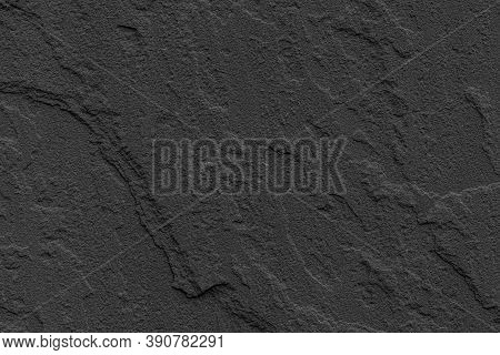 Dark Grey Black Slate Background Or Texture. Black Granite Slabs Background