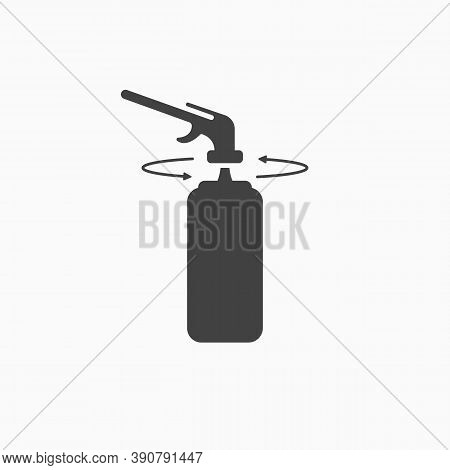 Assembly Instructions For Polyurethane Foam Or Gas Burner Icon. Using Sealant A Balloon For Mounting