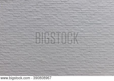Gray Wall. Empty Grunge Cement Wall, Loft Wall Style. Interior Loft Style. Blank Wall For Background