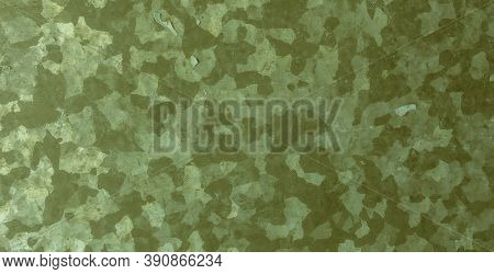 Khaki Texture Background. Watercolour Camouflage Material. Green War Textile. Vintage Geometric Prin