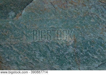 Close-up Of Blue Green Rock In Absaroka Range, Montana
