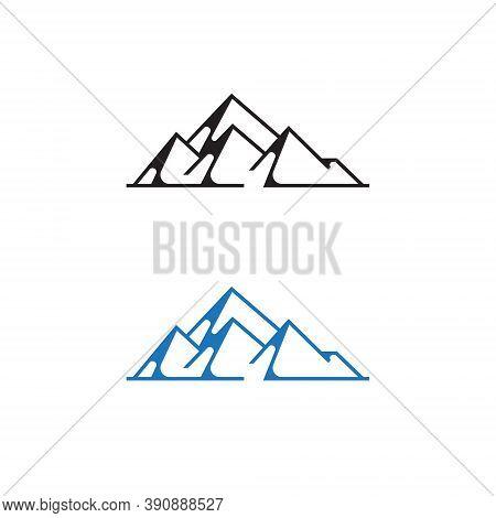 Rocky Mountain Summit Nature Explore Adventure Line Logo