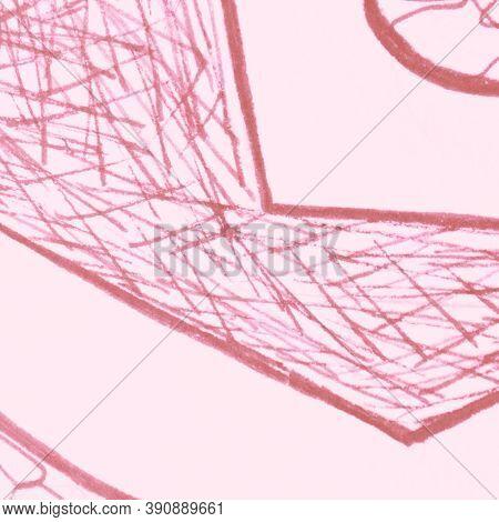 Scribble Pattern. Tender Scribble Pencil. Romantic Random Doodles. Ink Grit Graffiti. White Doodle S