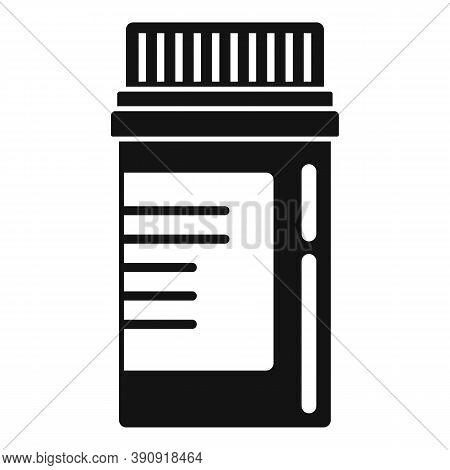 Aspirin Pill Jar Icon. Simple Illustration Of Aspirin Pill Jar Vector Icon For Web Design Isolated O