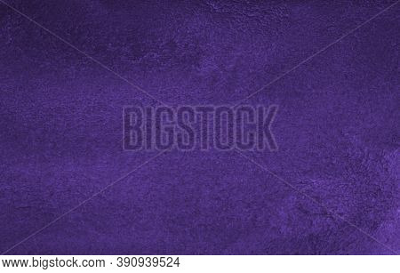 Purple Watercolor Background. Abstract Violet Background Drawn By Hand With A Brush. Watercolor Text