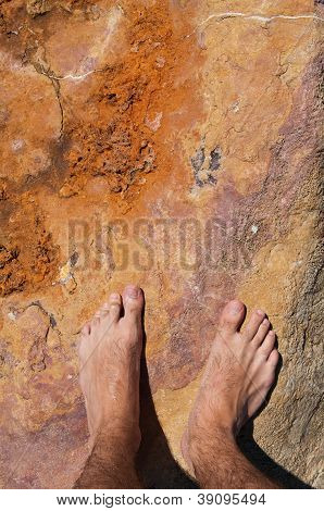 Barefoot On Rock