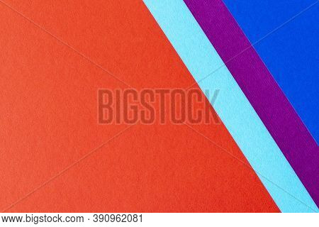 Trending Colors For 2020. Abstract Red Blue Purple Background. Abstract Geometric Background For The