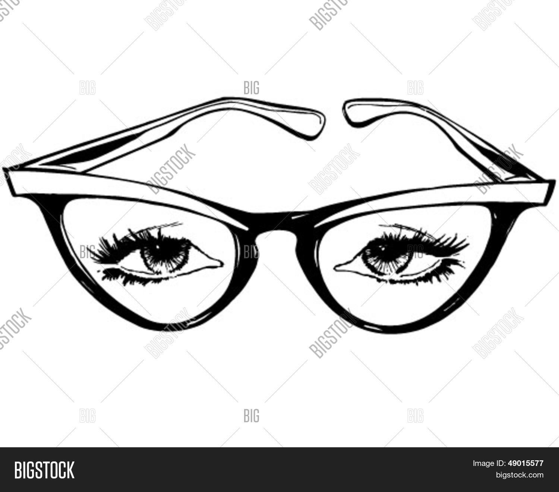 db1357754c9 Cat Eye Glasses - Vector   Photo (Free Trial)