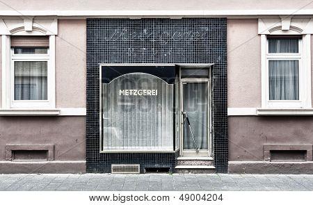 Closed Metzgerei