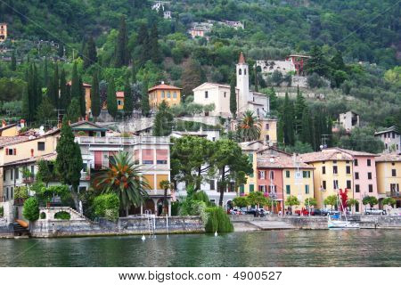 Italy. Lake Garda. Small Town