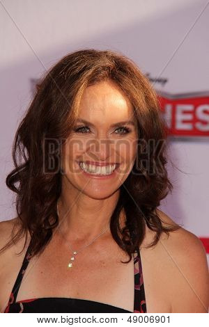 LOS ANGELES - AUG 5:  Amy Brenneman arrives at the