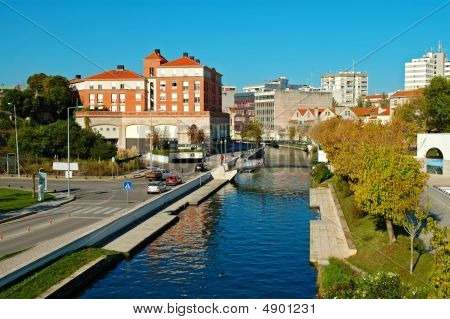 View Of Aveiro Town