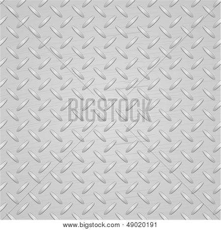 Light metal texture background. Vector.