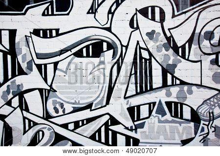 MELBOURNE - JUNE 29: Street art by unidentified artist. Melbourne's graffiti management plan recognises the importance of street art in a vibrant urban culture - June 29, 2013 in Melbourne, Australia.