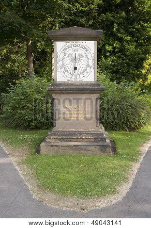 victorian sundial