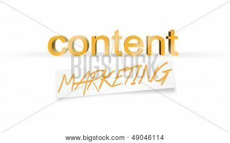 Content Marketing, blog Copywriting, Success concept