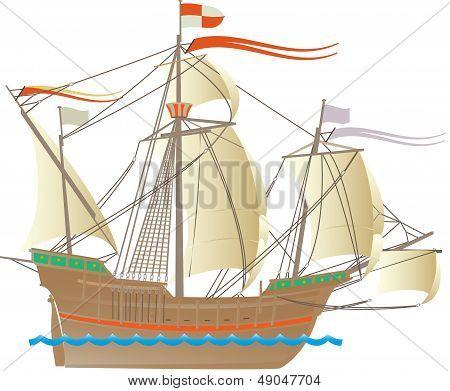 Columbus ship Santa Maria