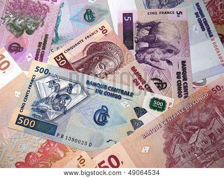 Money is the Democratic Republic of the Congo