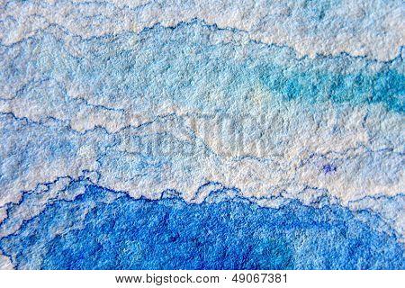 Blue Watercolor Cloud Background 1