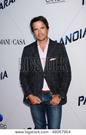 LOS ANGELES - AUG 8:  Matthew Settle arrives at the