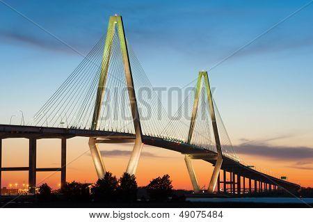 Charleston South Carolina Arthur Ravenel Cooper River Bridge