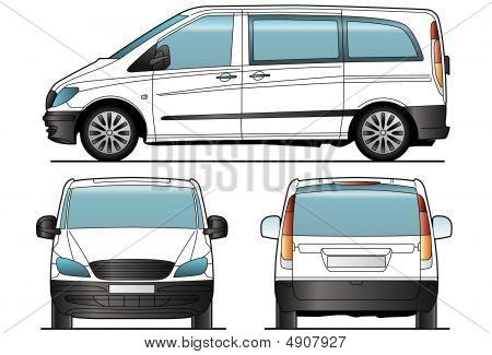 Taxi Minibus Template