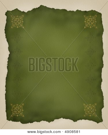 Torn Paper Embossed Background