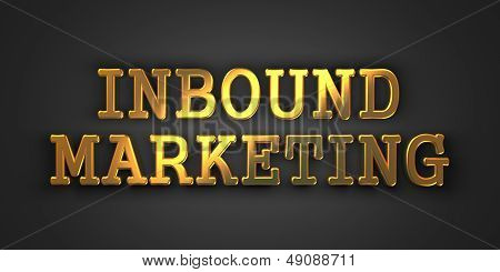 Inbound Marketing. Business Concept.