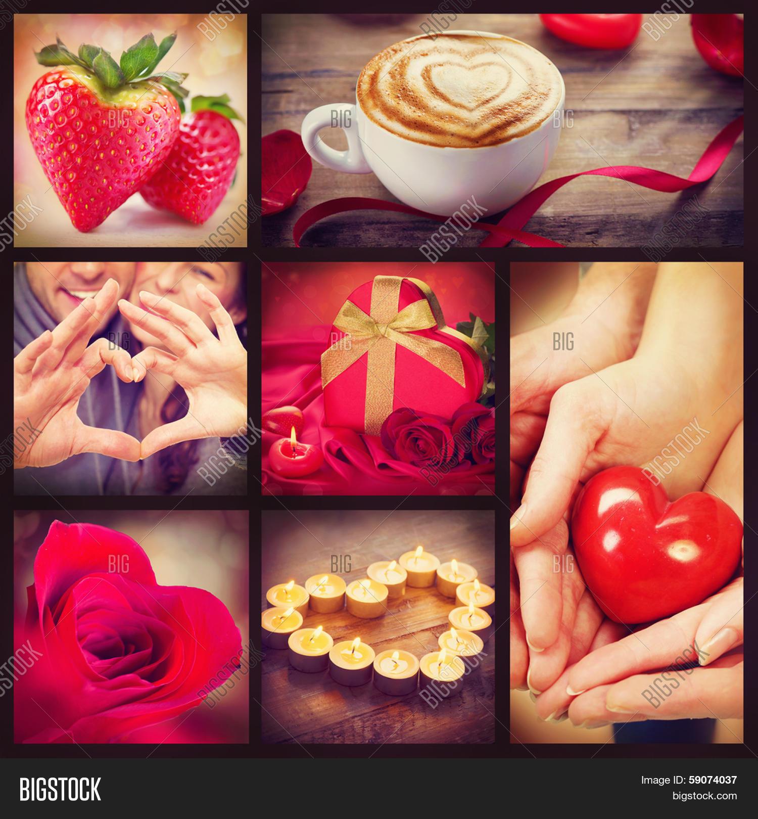Valentine Collage  Image & Photo (Free Trial) | Bigstock