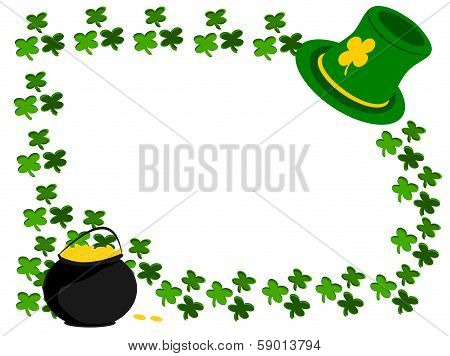 Clover and  Hat and Gold