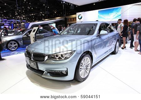 Nonthaburi - November 28: Bmw 320D Gt Luxury Car On Display At The 30Th Thailand International Motor