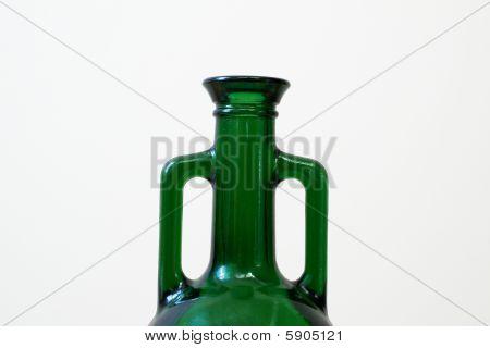 green amphora bottleneck