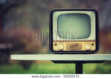 Vintage Soviet TV from 1959.