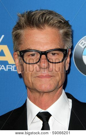 LOS ANGELES - JAN 25:  Harry Hamlin at the 66th Annual Directors Guild of America Awards at Century Plaza Hotel on January 25, 2014 in Century City, CA