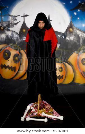 Halloween Sorcerer Graffiti