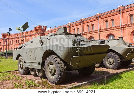 Soviet Armored Vehicle 9P148 Of 9M113 Konkurs Missile Complex