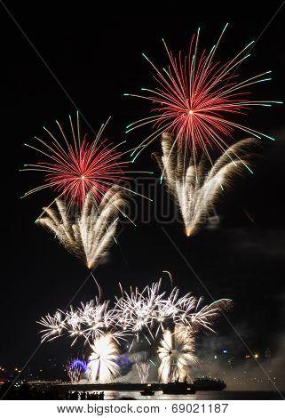 Firework Over Cologne