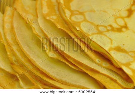 Pancakes Pile Close-Up