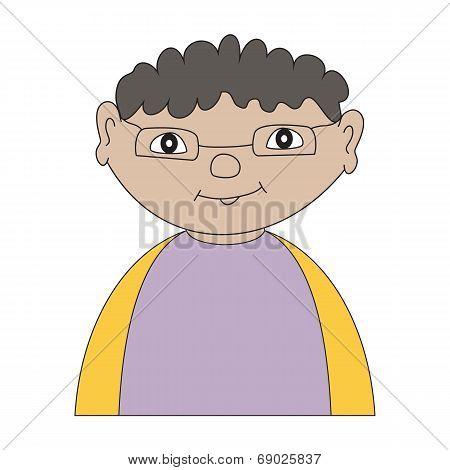 Portrait Cartoon Child