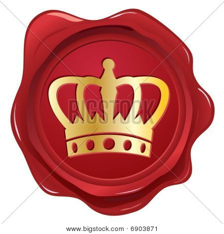 Crown wax seal