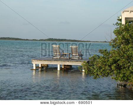 Caribbean Dock Fantasy